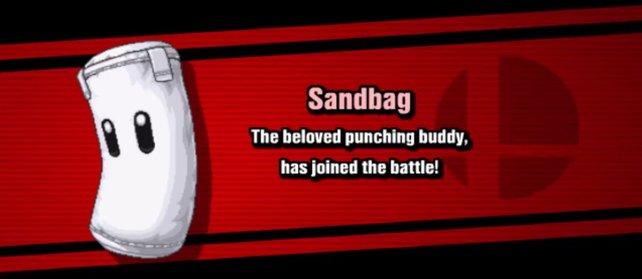 Nachdem ihr den Classic-Mode abgeschlossen und Sandbag besiegt habt, taucht er in der Kämpferauswahl auf.