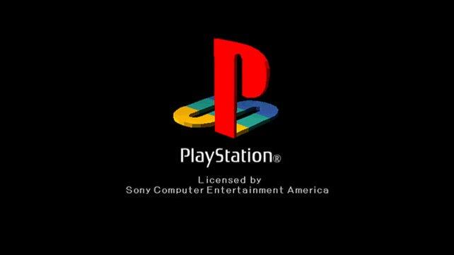 So sah das Logo der PlayStation damals aus.