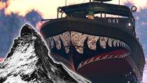 Spieler zeigt spektakuläre Bootstour – auf einem Berg