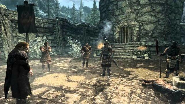 Erinnert ihr euch noch an den Anfang von Skyrim?