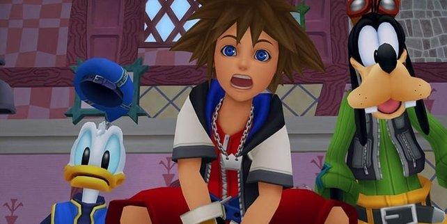 """Bisher ist die """"Kingdom Hearts""""-Fernsehserie nur ein Gerücht."""