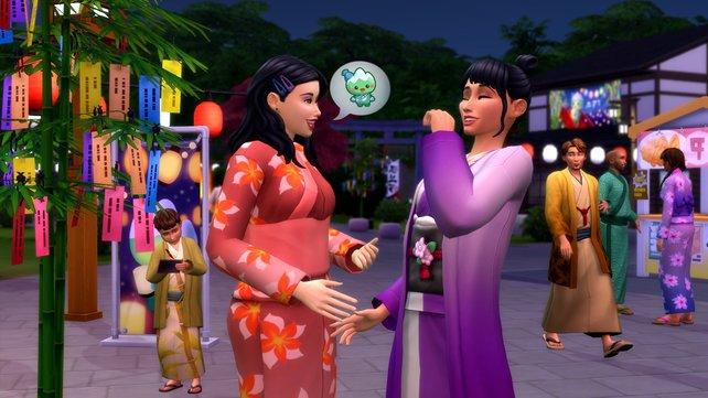 """Ab ins Schneeparadies scheint das langersehnte DLC zu sein, welches sich """"Die Sims 4""""-Fans gewünscht haben."""