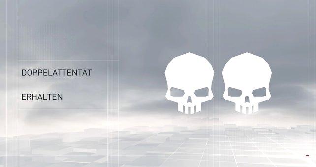 Das Doppelattentat: Eine besonders elegante Lösung gegen Feinde in Überzahl.