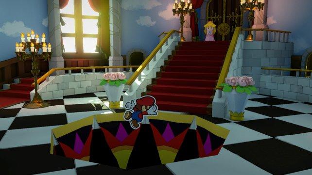 Es ist egal, was ihr antwortet. Mario kann dem freien Fall nicht entkommen.