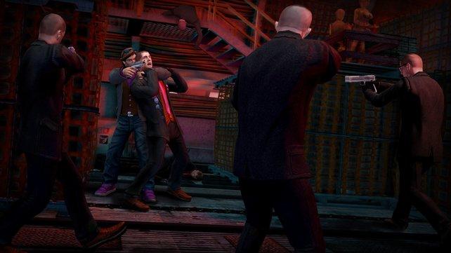 Saints Row: The Third Remastered ist ebenfalls gerade günstig im PS4-Sale zu bekommen.