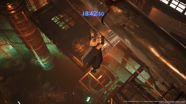 Ihr müsst dringend aus dem Reaktorgebäude entkommen, ehe die Bombe hochgeht.
