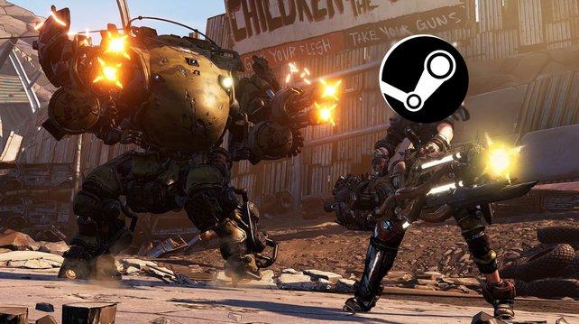 Wird Borderlands 3 auf Steam erscheinen? Eine offizielle Zusage gibt es noch nicht.