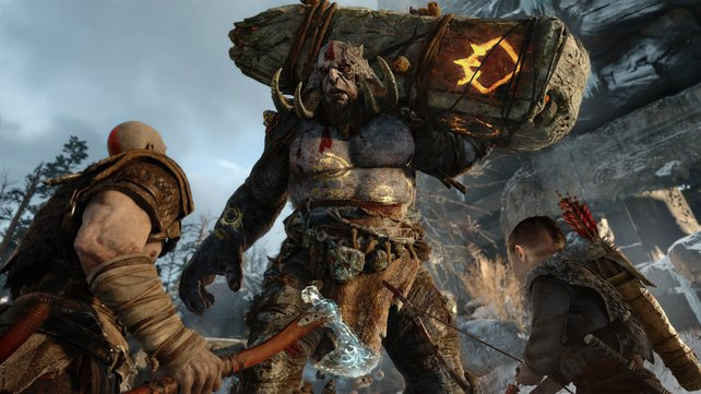 Einer der Höhepunkte im Line-Up von Sony: God of War.