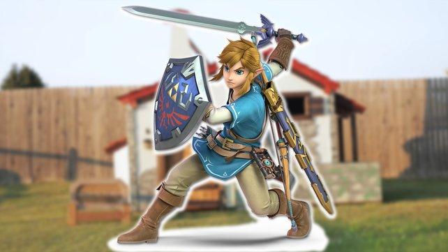 Wenn Träume wahr werden: Ein Vater hat für seine Kinder ein kleines Zelda-Haus gebaut.
