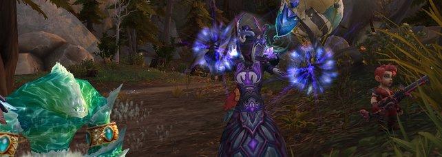 Als Frost-Magier teilt ihr sowohl gegen einzelne, als auch gegen mehrere Gegner guten Schaden aus.