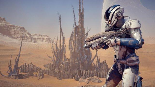Mass Effect - Andromeda könnte eine Fortsetzung bekommen.