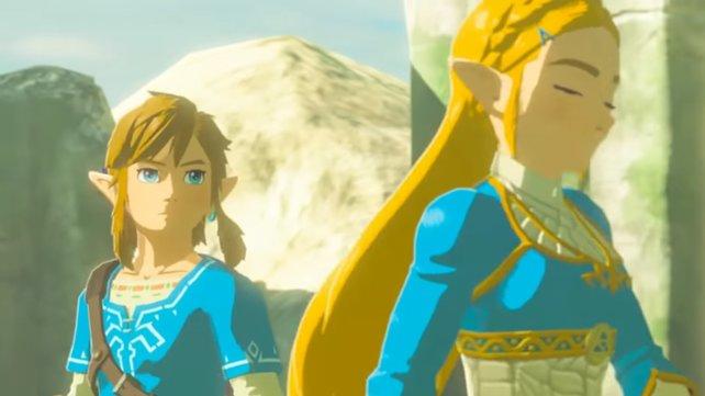 Die Erinnerungen zeigen euch in schönen Zwischensequenzen, wie sich die Vorgeschichte von Zelda BotW zugetragen hat.