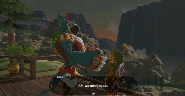 Endlich. Ihr habt es geschafft, dass Kashiwa in das Dorf der Orni zurückkehrt. Hört genau zu, was er euch zu sagen hat.