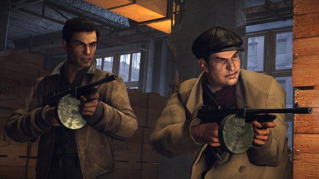 Kein glamouröses Comeback: Die Definitive Edition von Mafia 2 kämpft mit technischen Problem.