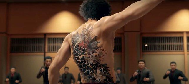 In Yakuza: Like A Dragon geht's zur Sache.