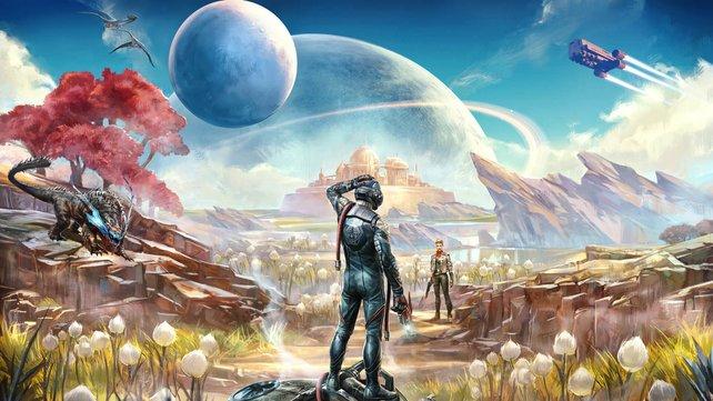 Die Macher von Fallout: New Vegas haben mit The Outer Worlds ein abgedrehtes Rollenspiel am Start.