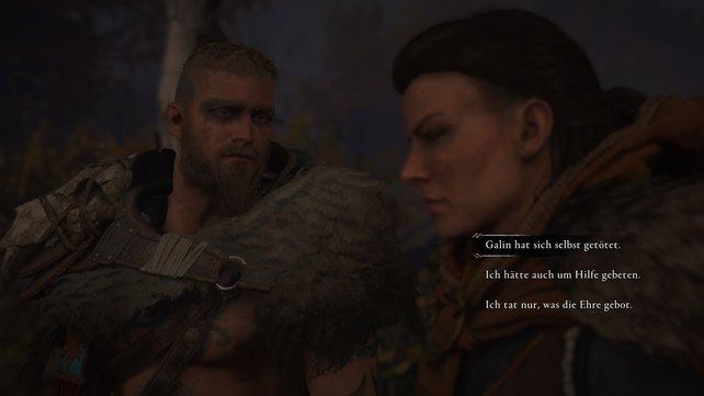Galin war der Verräter und ihr musstet ihn entlarven. Soma trifft bei dem ganzen Chaos keine Schuld.