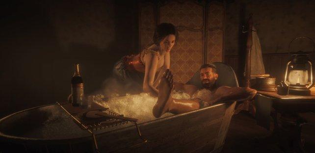 Heißes Bad: Auch das wird sicherlich eure Gesundheit verbessern... irgendwie.