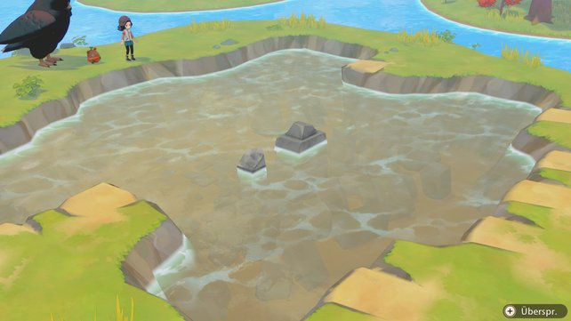 Die seltensten Schätze findet ihr in den Tiefen des uralten Sees...