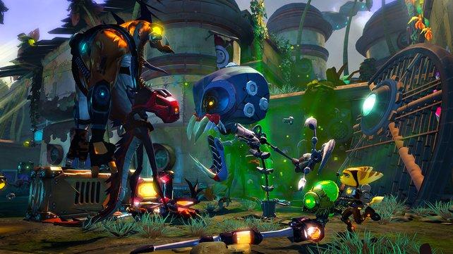 Bunt, bunter, Ratchet & Clank - Nexus.