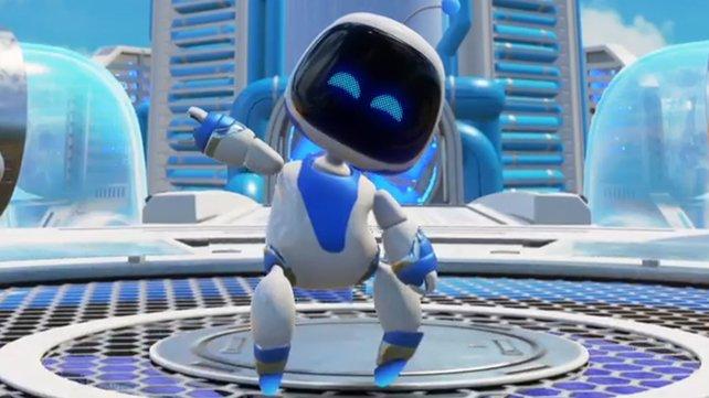 Begleitet Astro durch seinen Playroom und sammelt dabei alle Artefakte und Puzzleteile in den 16 Levels des Spiels ein.