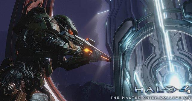Halo 2 sieht in aufpolierter Grafik eindrucksvoll aus.