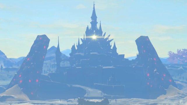 Nicht nur von außen eine Augenweide: Schloss Hyrule