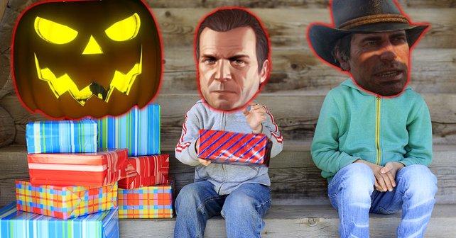 Halloween im Hause Rockstar: Fans von Red Dead Online sind wütend, dass sie gegenüber GTA Online fast leer ausgehen. Bildquelle: EvgeniiAnd.