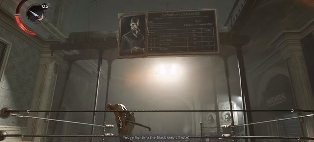 So sieht das erste der acht Gemälde aus.