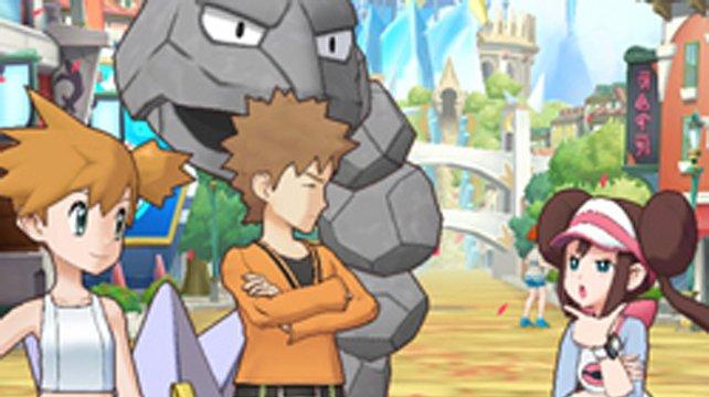 Rocko und Misty unterstützen euch von Anfang an in Pokémon Masters.