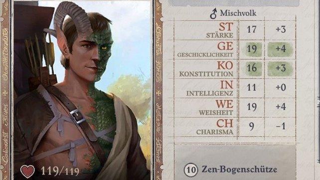 Lann ist ein Zen-Bogenschütze.