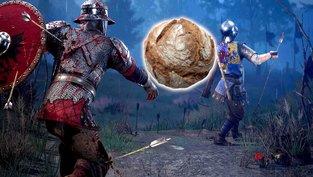 Spieler dreht in Mittelalter-Battlefield komplett durch