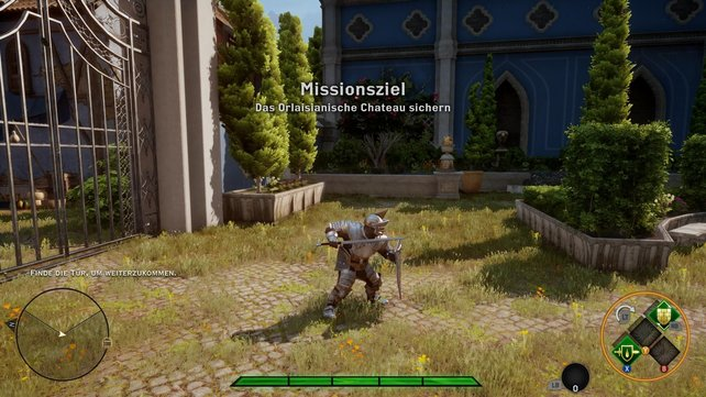 Im Mehrspielermodus verkörpert ihr einen generischen Soldaten der Inquisition.