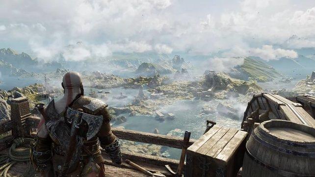 Gof of War: Ragnarök ist nun offiziell angekündigt - und bietet eine fantastische Optik.