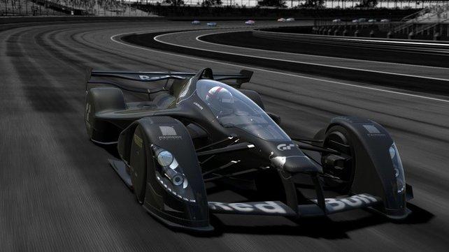 Wenn Videospiele und F1-Technik miteinander verschmelzen: Der Red Bull X2011.