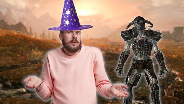 Ein Magier in Skyrim hat Probleme mit seinen Zaubern. Bildquelle: Getty Images/ master1305/ canbedone