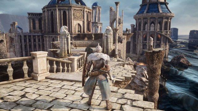 Dark Souls 2 wird dank einer Mod noch viel schöner.