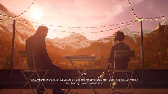 Wie sich die Zukunft von Haven und Alex gestaltet entscheidet ihr allein.