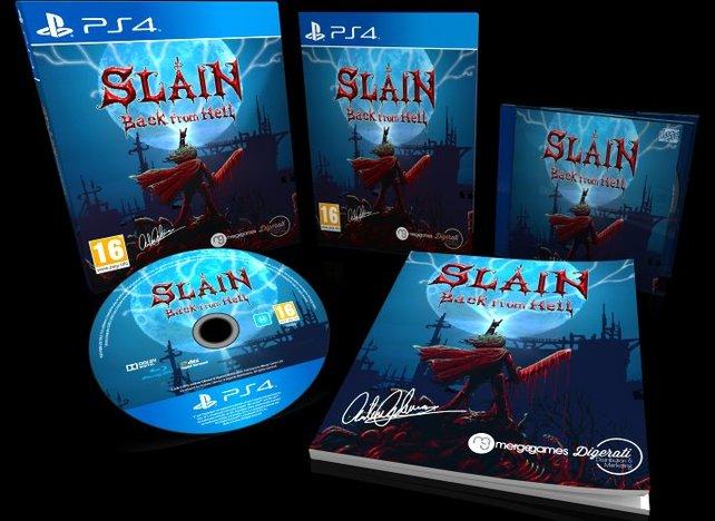 Die sogenannte Signature Edition des Plattform-Gemetzels Slain.
