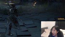 Bloodborne-Streamerin entdeckt Funktion des Controllers und kann es kaum fassen