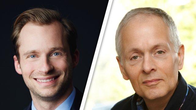 Links: Fabian Westerheide, Rechts: Andreas Brandhorst