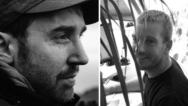 Von links: Michel Koch, Raoul Barbet. Beide von Entwicklerstudio Dontnod Entertainment.