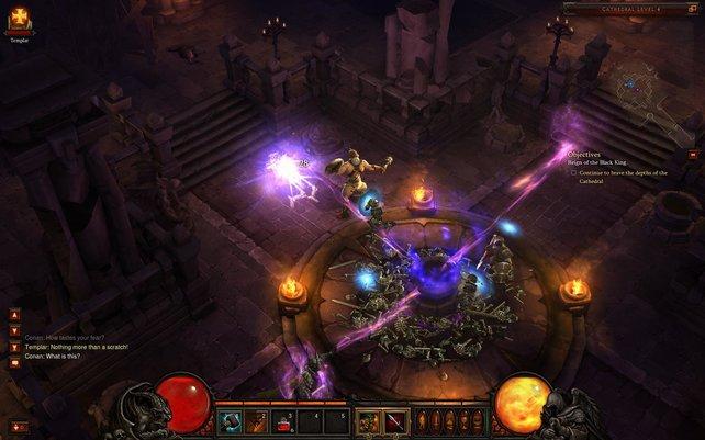 Leuchtende Farben, bestenfalls schummrige Beleuchtung. Diablo 3 ist vielen zu bunt.