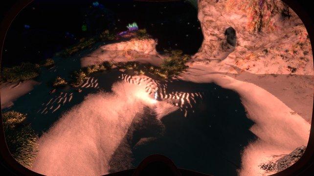 Mit Höhlenschwefel könnt ihr in Subnautica wichtige Gegenstände herstellen, wie etwa die Leuchtfackel.