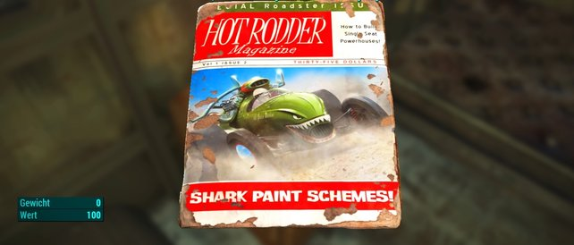 Die Shark Paint Schemes - Zeitschrift