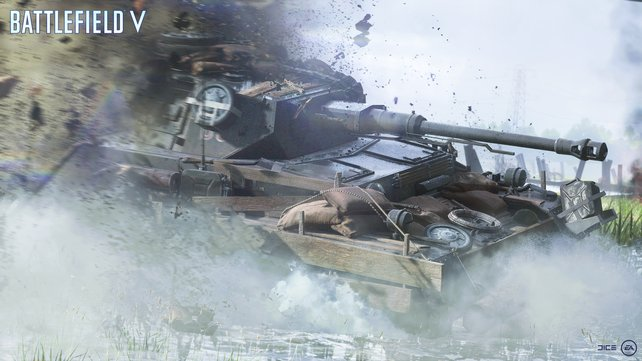 Szenario Zweiter Weltkrieg: Rechnet mit dem Einsatz von schwerem Kriegsgerät.