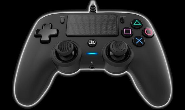 Der Nacon Wired Compact Controller ist eine günstige Alternative zum PS4-Controller.