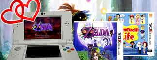 Gewinnspiel: Holt euch einen New 3DS mit Majora's Mask 3D und Tomodachi Life