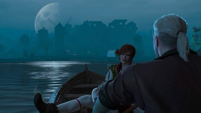Shani und Geralt kommen sich näher.