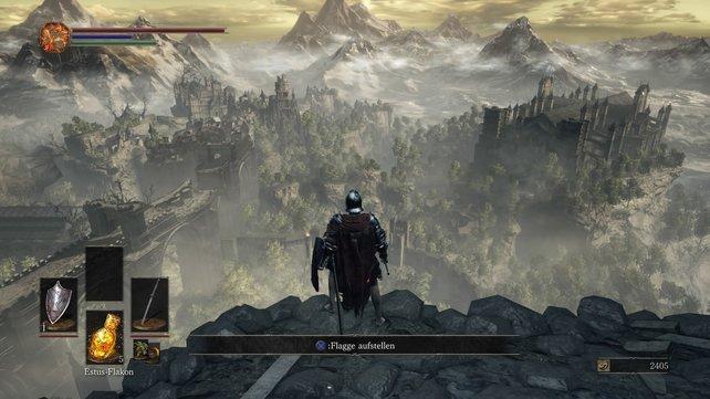 Dark Souls 3 bietet eine riesige Spielwelt
